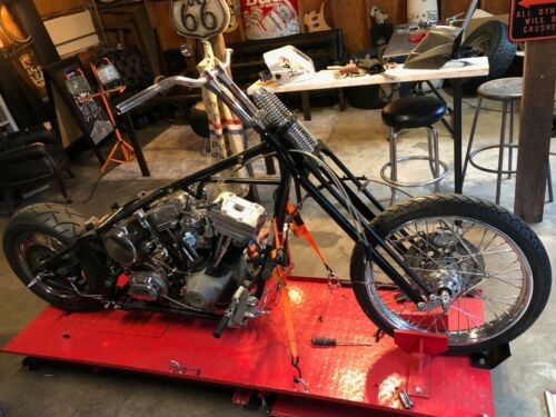 1999 Custom Built Motorcycles Chopper Black craigslist
