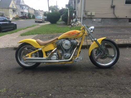1999 Custom Built Motorcycles Chopper Yellow craigslist