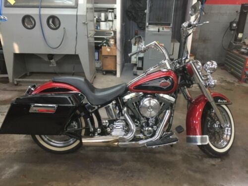 1999 Harley-Davidson Softail Blue for sale craigslist