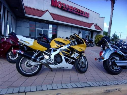 1999 Honda CBR RR Yellow for sale