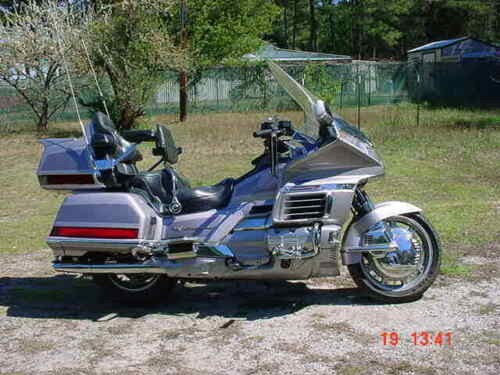 1999 Honda Gold Wing Silver for sale craigslist