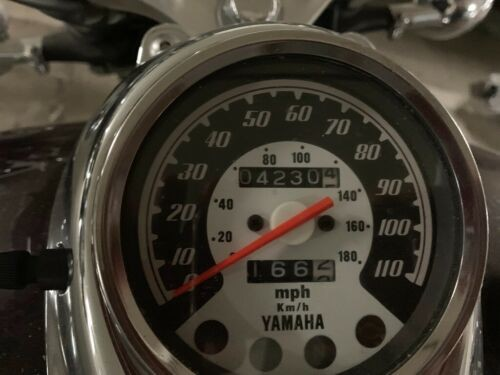 1999 Yamaha V star Burgundy for sale