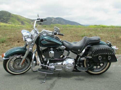 2000 Harley-Davidson Softail Green for sale craigslist