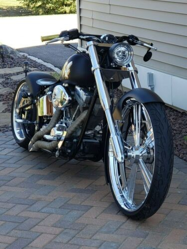 2000 Harley-Davidson Softail SATIN BLACK for sale craigslist