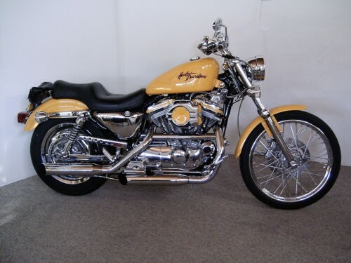 2000 Harley-Davidson Sportster Yellow for sale craigslist