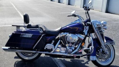 2000 Harley-Davidson Touring Blue for sale craigslist