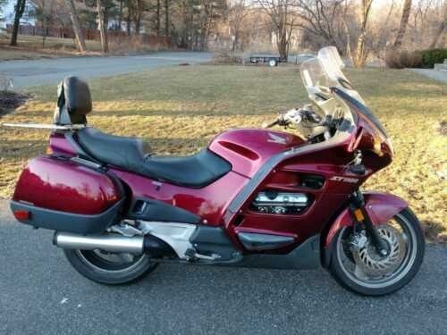 2000 Honda ST 11000 Candy Apple Red for sale craigslist