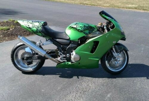 2000 Kawasaki Ninja Green for sale craigslist