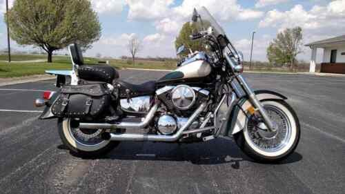 2000 Kawasaki Vulcan Green for sale craigslist