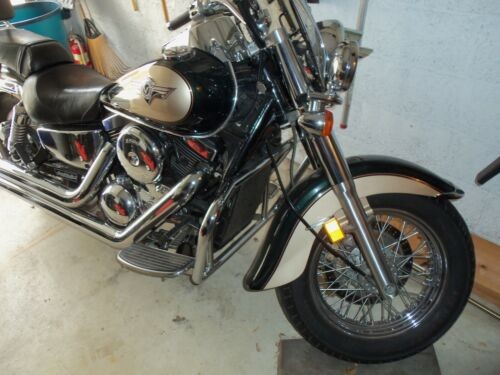 2000 Kawasaki Vulcan Green for sale