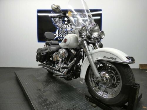 2001 Harley-Davidson FLSTC - Heritage Softail Classic -- White for sale