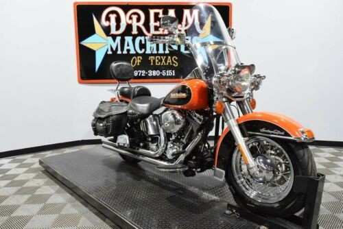 2001 Harley-Davidson FLSTCI - Heritage Softail Classic -- Orange for sale craigslist