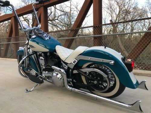 2001 Harley-Davidson Softail Blue for sale