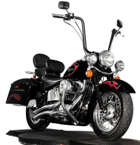 2001 Harley-Davidson Softail Custom Black with Red Tribal for sale