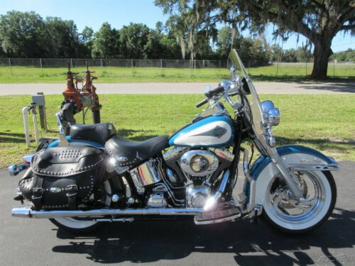 2001 Harley-Davidson Softail Heritage Softail® Classic Teal for sale craigslist