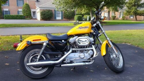 2001 Harley-Davidson Sportster Yellow for sale