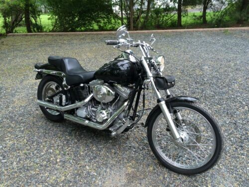 2001 Harley-Davidson Touring Black with Ghost Flames for sale