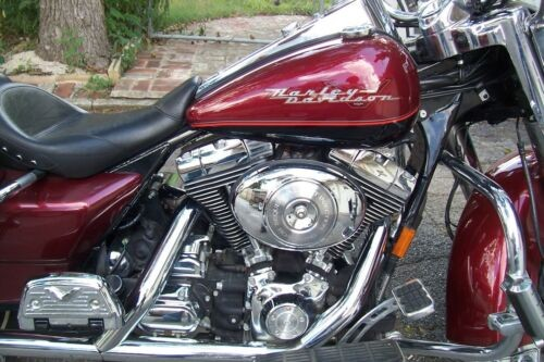 2001 Harley-Davidson Touring Burgundy/Black for sale craigslist