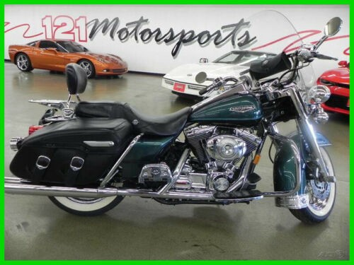 2001 Harley-Davidson Touring Road KIng Classic Green craigslist