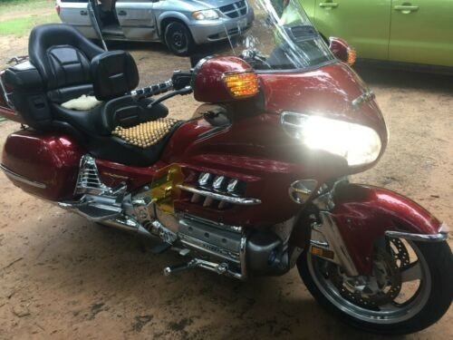 2001 Honda Gold Wing ILLUSION RED craigslist
