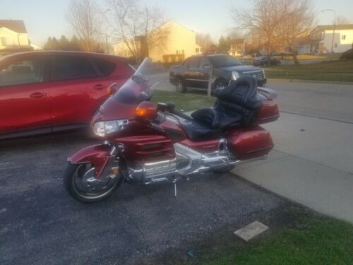 2001 Honda Gold Wing Red craigslist
