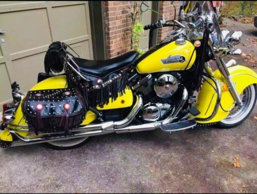2001 Indian Kawasaki 805 Drifter Indian copy Yellow for sale