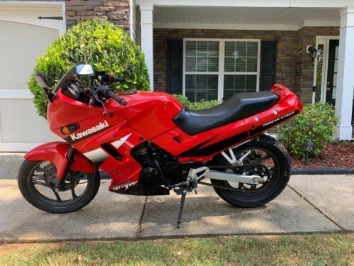 2001 Kawasaki Ninja Red for sale craigslist