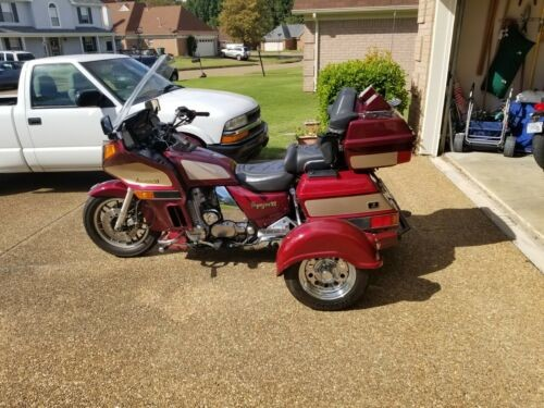2001 Kawasaki Voyager XII Red for sale