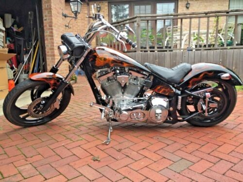 2002 American Ironhorse Outlaw Custom Graphics skulls and flames for sale craigslist