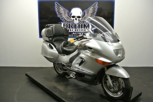 2002 BMW K 1200 LT Custom -- Silver for sale