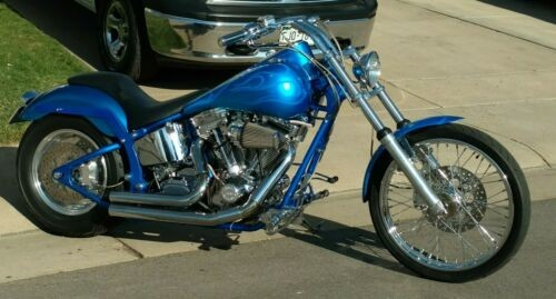 2002 Custom Built Motorcycles Chopper for sale craigslist