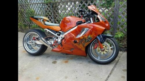 2002 Custom Built Motorcycles Other Orange/custom airbrush craigslist