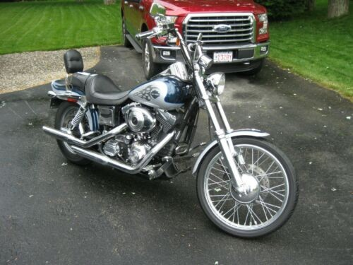 2002 Harley-Davidson Dyna Luxury Blue and Diamond Ice for sale craigslist