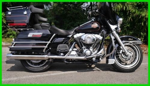 2002 Harley-Davidson FLHTCI - Electra Glide Classic Injection VIVID BLACK for sale