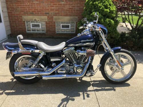 2002 Harley-Davidson FXDWG3 Dyna Wide Glide Blue for sale