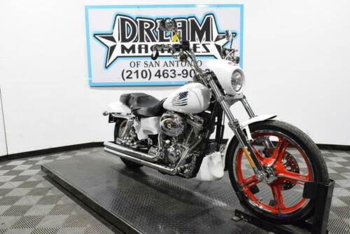 2002 Harley-Davidson FXDWG3 Managers Special -- White for sale craigslist