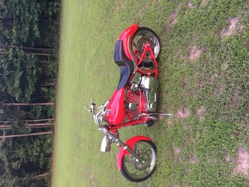 2002 Harley-Davidson FXST soft tail Red for sale craigslist