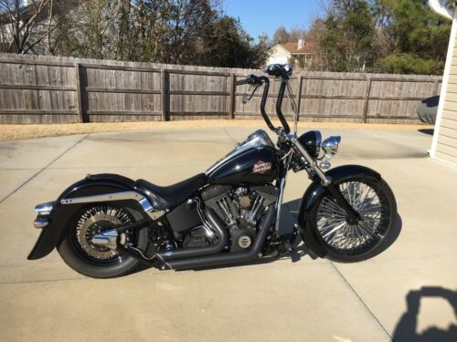 2002 Harley-Davidson Softail Black for sale craigslist