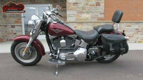 2002 Harley-Davidson Softail FLSTF - Softail Fat Boy Red craigslist