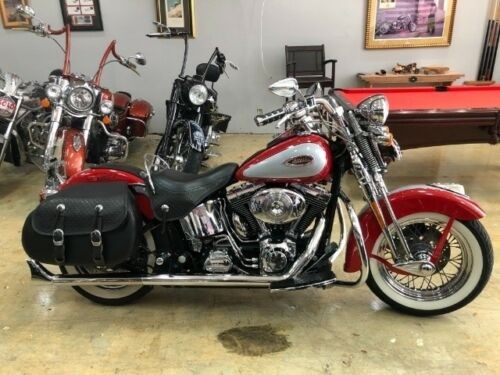 2002 Harley-Davidson Softail FLSTSI HERITAGE SPRINGER Red for sale craigslist