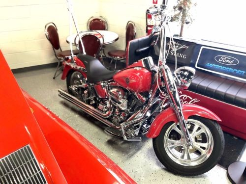 2002 Harley-Davidson Softail Red for sale craigslist