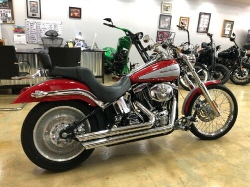 2002 Harley-Davidson Softail Red for sale