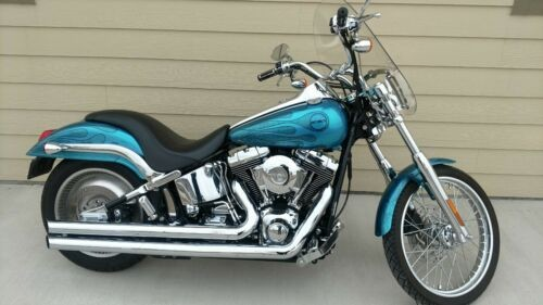2002 Harley-Davidson Softail Teal Green Custom craigslist
