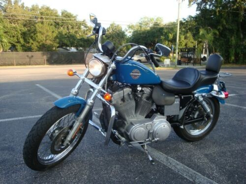 2002 Harley-Davidson Sportster Teal for sale craigslist
