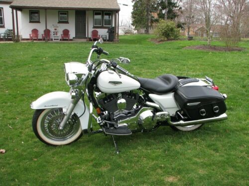 2002 Harley-Davidson Touring Pearl White for sale