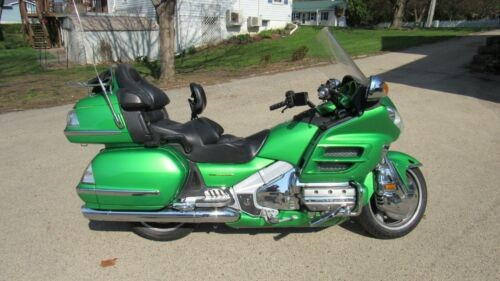 2002 Honda Gold Wing Green for sale craigslist