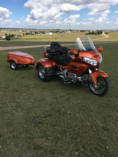 2002 Honda Gold Wing Orange for sale craigslist
