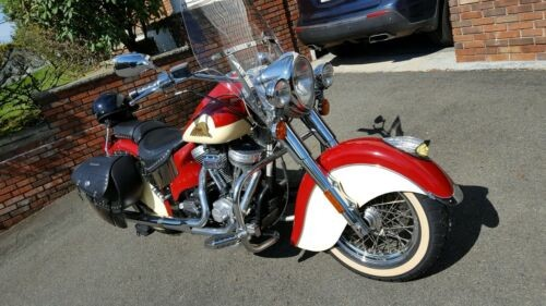 2002 Indian Chief Road Master Crimson and Cream for sale