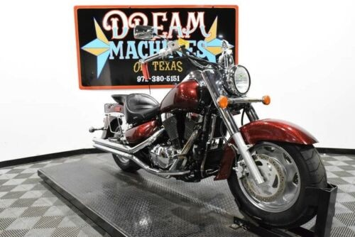 2002 Suzuki Intruder 1500 LC Managers Special -- Red for sale