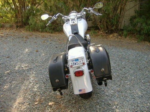 2003 Custom Built Motorcycles Other White for sale craigslist